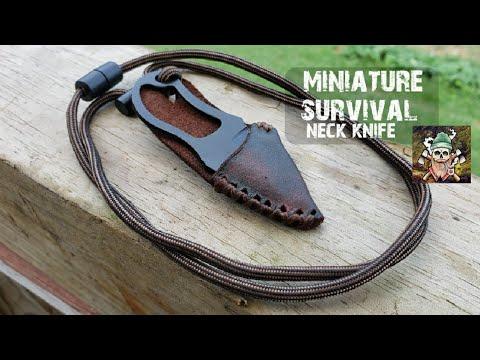 Miniture Survival Neck Knife