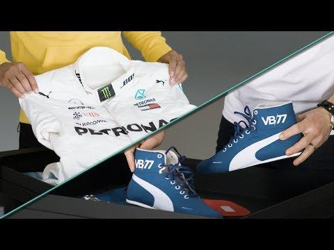 Unboxing Lewis & Valtteri's 2018 F1 Race Gear