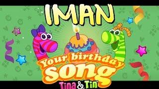 Tina&Tin Happy Birthday IMAN