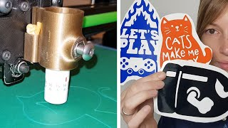Fabriquer ses propres stickers avec une imprimante 3D !