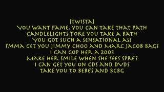 Twista - Overnight Celebrity [lyrics on screen]