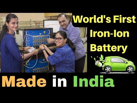 IIT Madras Team Made World's First Iron Ion Battery for EVs