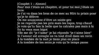 Alonzo ft Maitre Gims Dans Son Sac Paroles