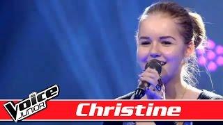 Christine synger  'I Won't Give Up' af Jason Mraz - Voice Junior Danmark - Program 2 - Sæson 1
