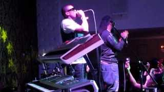 C4Pedro & Big Nelo, B4, singing MAPOLOPOLO MANE, in ANGOLANA 2013, Madrid.