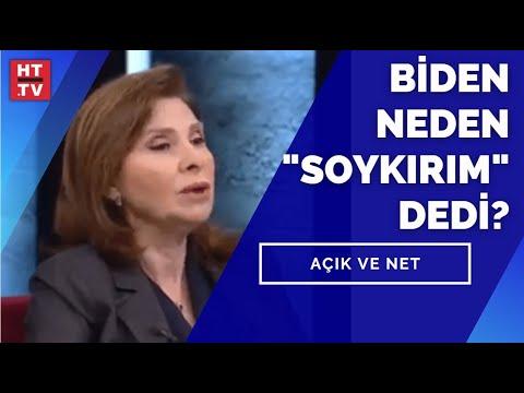 """Biden neden """"Soykırım"""" dedi? Prof. Dr. Özden Zeynep Oktav yanıtladı"""