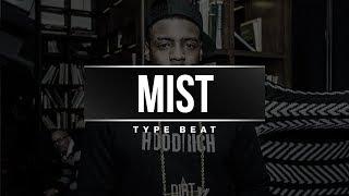 "Mist x Fredo Type Beat ""Gelato""   UK Rap Instrumental 2018"