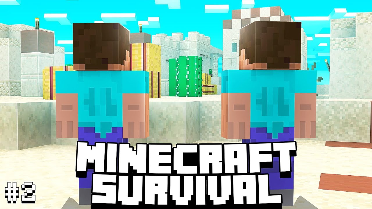 VALtheVAL - Secret Sand Village   Minecraft Survival 1.16 Let's Play   Ep 2