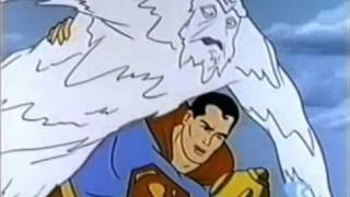 Superman Cartoon The Abominable Iceman from 1967 Part 4 width=