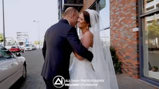 DUTCH AND TURKISH WEDDING - EMOTIONAL FIRST LOOK