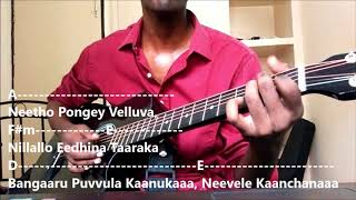 4 Chords, 4 Telugu Songs Mashup on Guitar