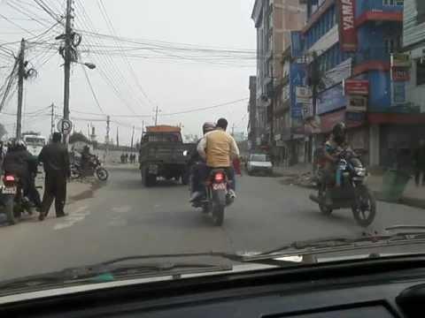 Nepal – Taxi ride in Kathmandu