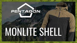 video - Bunda PENTAGON MONLITE SHELL - Military Range CZ/SK