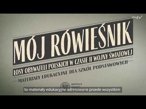 GRA edukacyjna: Mój Rówieśnik. Losy obywateli polskich w czasie II wojny światowej [INSTRUKCJA]