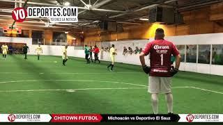 Michoacan vs Deportivo El Sauz Final A Jueves Chitown Futbol