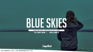 """Blue Skies"" - Sad Piano ✘ Drums Instrumental ( Prod :Danny E.B )"