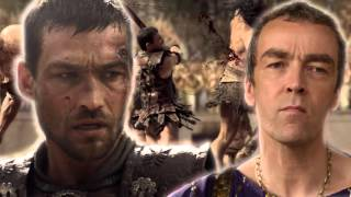 Spartacus Music Video - Somewhere I Belong by Linkin Park (Chester Bennington tribute)