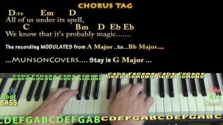 Rainbow Connection (Muppet Movie) Piano Cover Lesson in G with Chords/Lyrics