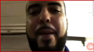 French Montana Responds to MEEK MILL FIGHT BACKSTAGE RUMORS Showing UNTOUCHED FACE & CLEAN Shoes