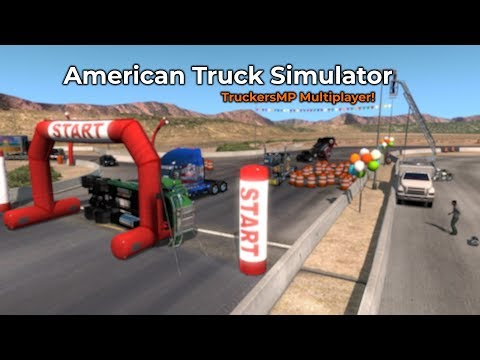 American Truck Simulator TruckersMP Livestream 17032018