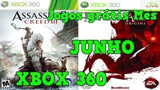 Jogos Grátis da Live Gold de JUNHO 2017 Games With Gold/ Xbox 360