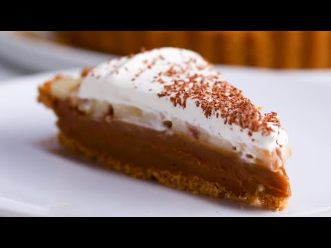 Delicious Banoffee Pie ? Tasty