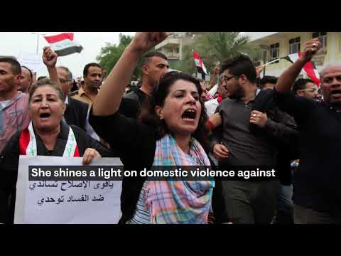 The Swedish Per Anger Prize awarded to Iraqi women human rights defender