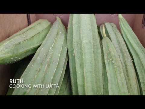 Cooking with luffa