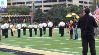 Rachel Holder Singing the National Anthem