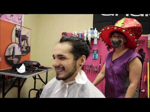 Can a pet groomer cut human hair. Live MUST WATCH