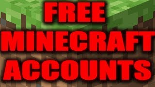 minecraft free accounts