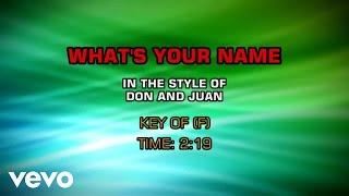 Don And Juan