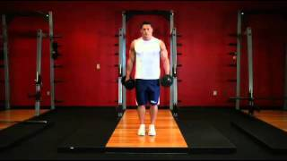 Biceps   Dumbbell Alternate Bicep Curl   Exercises Guide!   Live Health Club