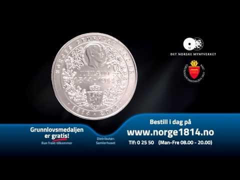 Grunnlovsmedaljen | I 2014 er det 200-årsjubileum for Grunnloven