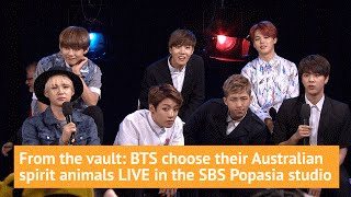 BTS choose their Australian spirit animal