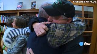 Family hears son's heart beat in another man's chest