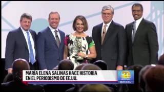 Despierta America -Maria Elena Salinas Hace Historia en el Periodismo de EEUU