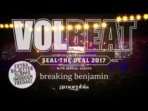 Volbeat - 9 September på Friends Arena i Stockholm