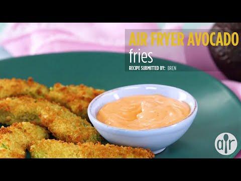 How to Make Air Fryer Avocado Fries | Appetizer Recipes | Allrecipes.com
