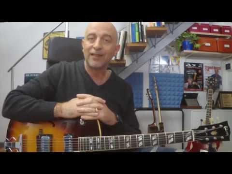 Masterclass online di chitarra jazz  -Analisi del repertorio