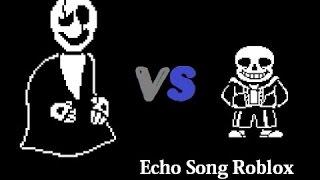 Roblox Undertale Echo Song