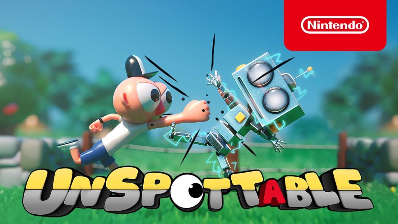 Nintendo - Unspottable - Launch Trailer - Nintendo Switch