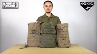 video - Přehled hydratačních batohů CONDOR OUTDOOR - Military Range CZ/SK