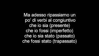 Lorenzo Baglioni - Il congiuntivo TESTO