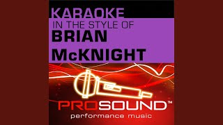 6, 8, 12 (Karaoke Instrumental Track) (In the style of Brian McKnight)