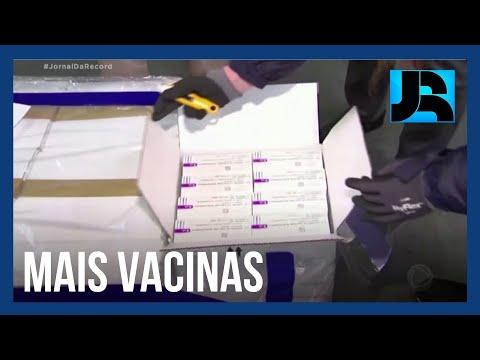 Lote com mais de 1 milhão de doses do consórcio Covax Facility chega ao Brasil