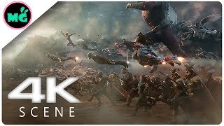 Avengers Assemble In Final Battle Scene - Avengers 4_ Endgame (2019) Marvel Movie Clip 4k