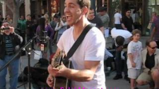 """Andy Grammer Sings """"Keep Your Head Up"""" Live On Third Street Promenad"""