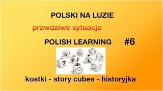 Polski na luzie - kostki story cubes - rozwój zdania