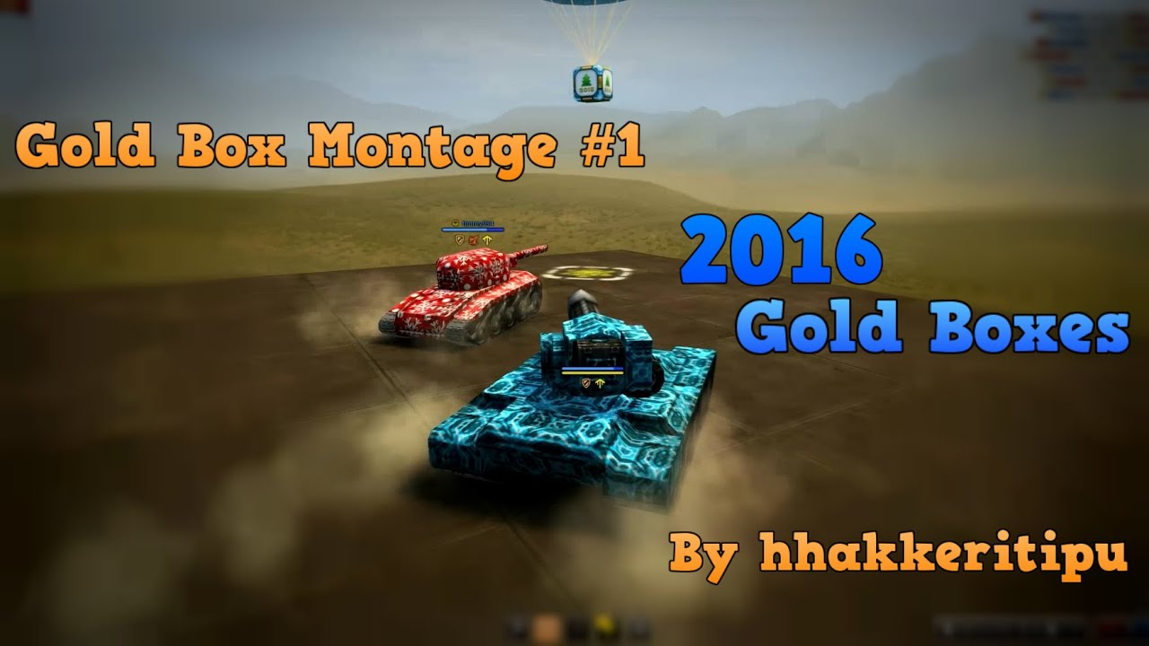 Gold Box Montage #1 By hhakkeritipu 2016 Gold Boxes